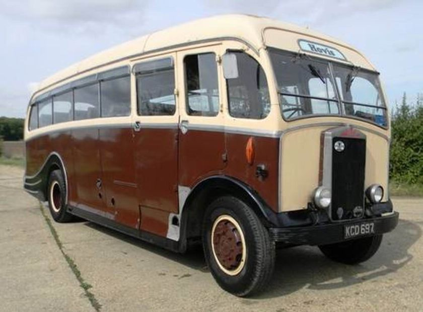 1949 Albion Victor 26 seat bus by harrington