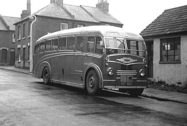 1949 Crossley DD42-3 which was fitted from new with this Strachans FC33F body