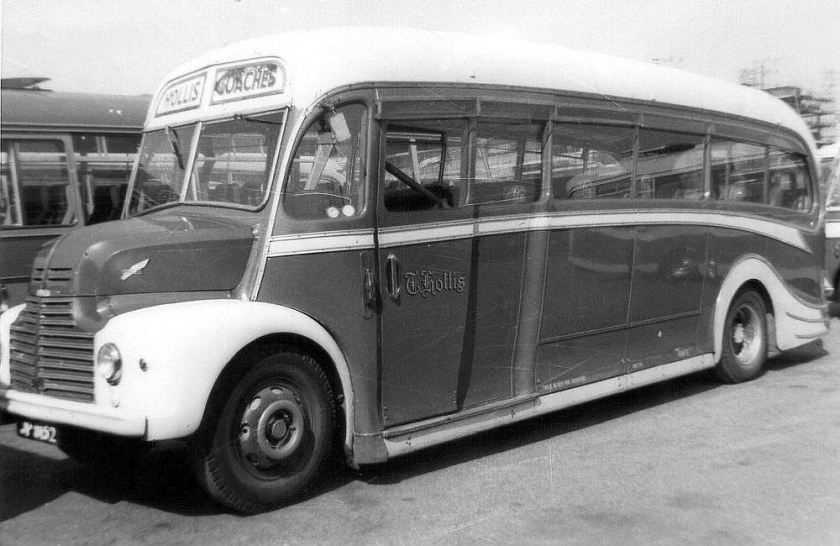 1949 Leyland Comet with Harrington bodywork