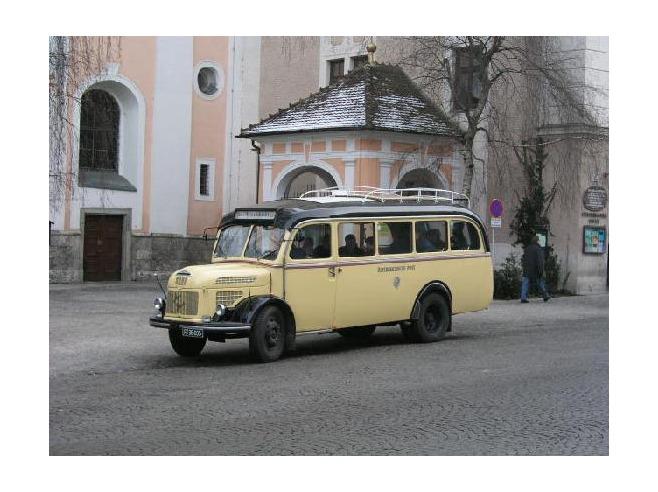 1949 STEYR bus to Christkindl Steyr