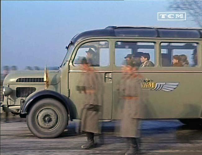 1949 Steyr Diesel 380 a Aussichtsbus