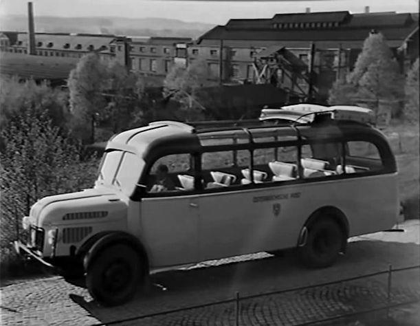 1949 Steyr Diesel 380 a Postbus