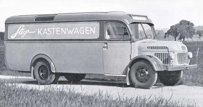 1949 Steyr Diesel 380 e