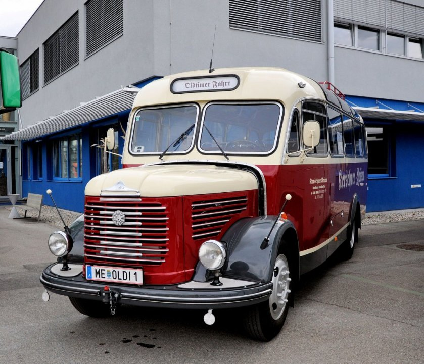 1949 STEYR Oldtimerbus aus Österreich