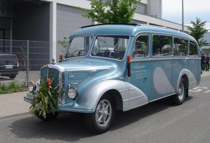 1949 STEYR - Oldtimerbus from Austria