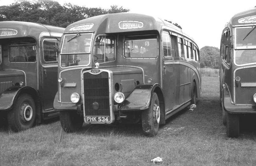 1949 Strachan C35F bodied Guy Arab III