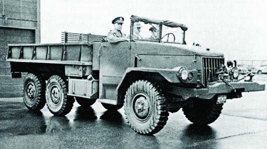 1949 Studebaker army truck prototype, 6x6