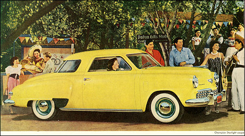 1949 Studebaker Champion Starlight Coupe