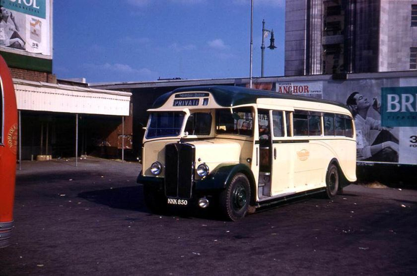1949 was a Harrington C32F bodied AEC Regal III