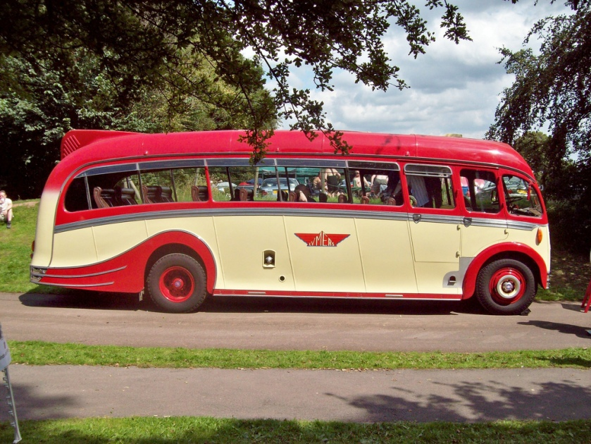 1950 AEC Regal 3 with Harrington Dorsal Fin Body and 9600cc engine sp