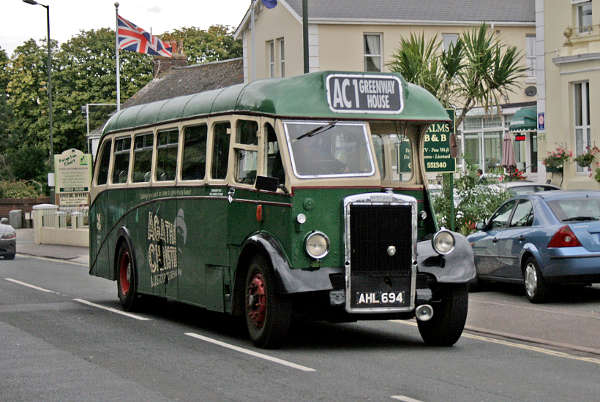 1950 Barnaby bodied Leyland PS1 AHL694
