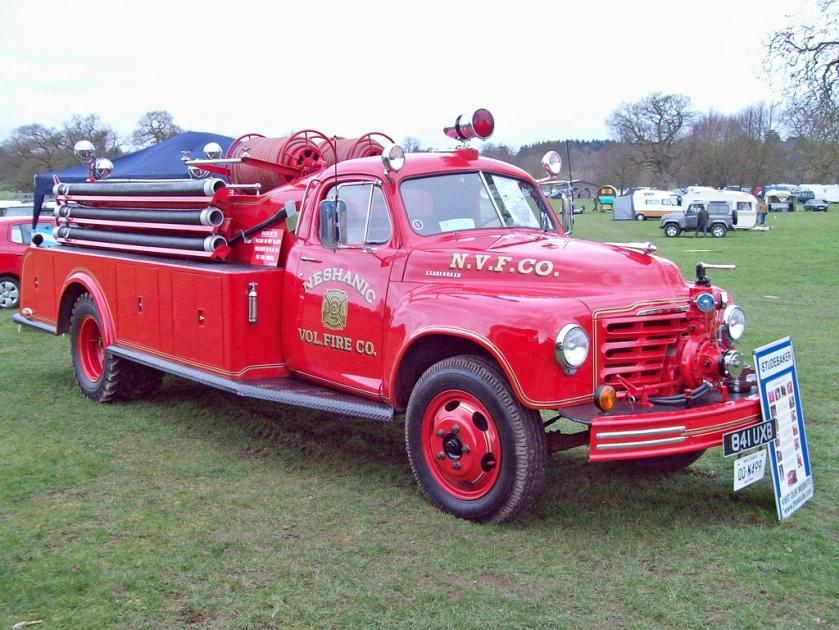 1950 Brandweer Trucks Studebaker 2R Fire Truck UXB