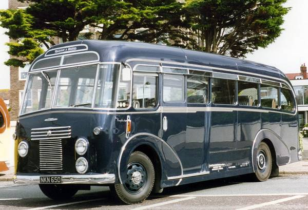 1950 Commer Avenger 1, fitted with a Harrington C16F body.