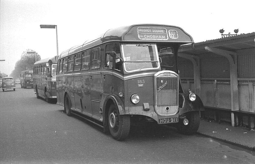 1950 Dennis J10 Lancet with Strachan B38R body