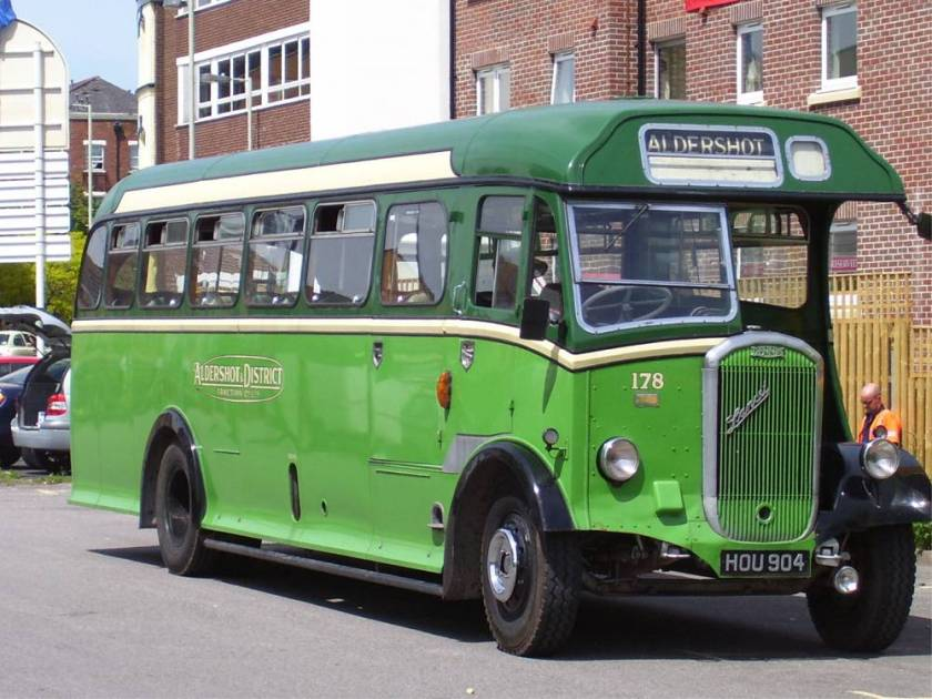 1950 Dennis Lancet 3 with Strachan B38R body