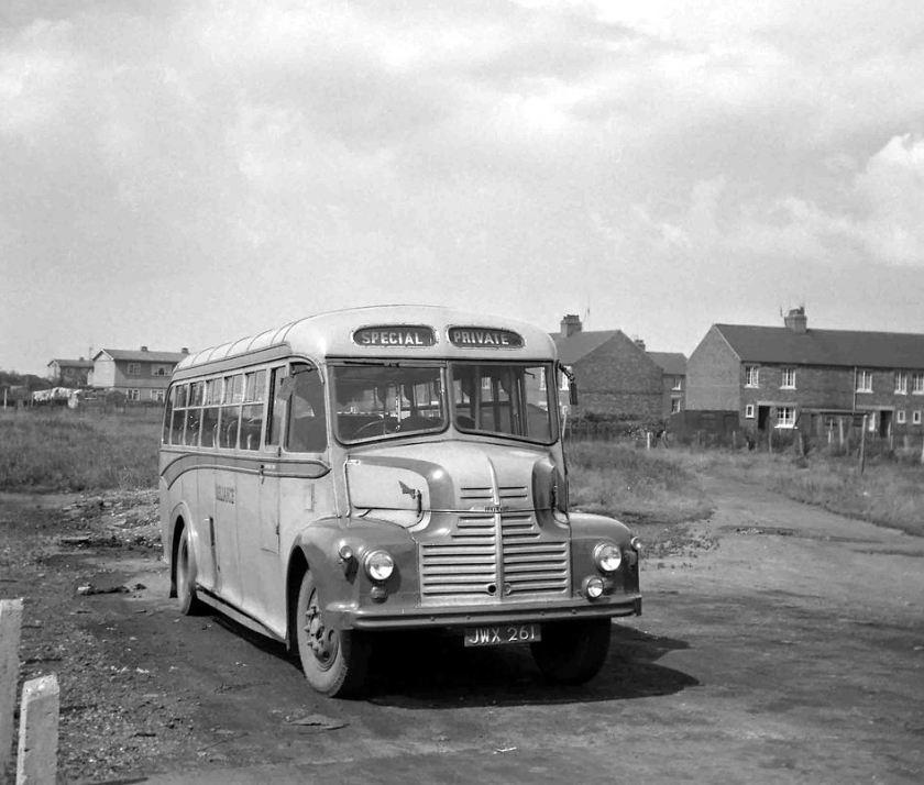 1950 Leyland Comet Barnaby 33 seat bodywork