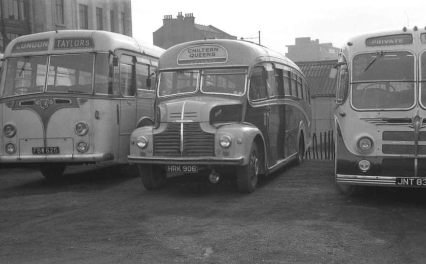 1950 Leyland CPO1 Comet with a Strachan C37F body