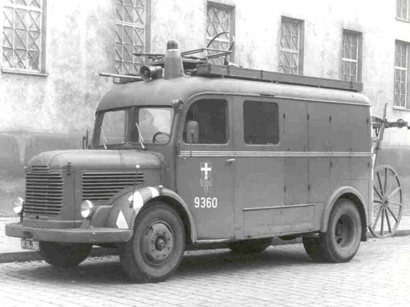 1950 Steyr 380b Ruestwagena