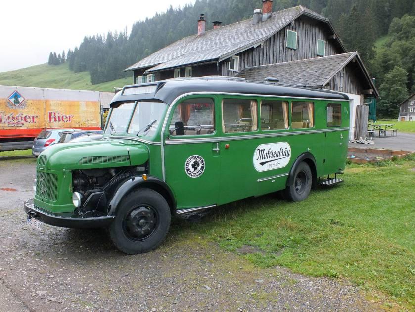1950 Steyr 380q Oldtimerbus