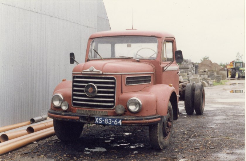 1950 Steyr 480 kipper