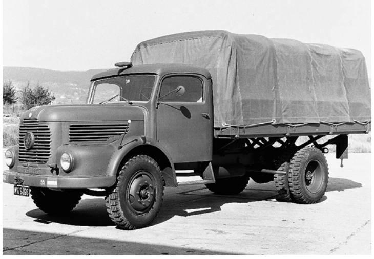 1950 Steyr 480 truck