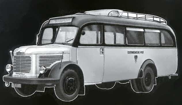 1950 Steyr Diesel 380 II - Omnibusse