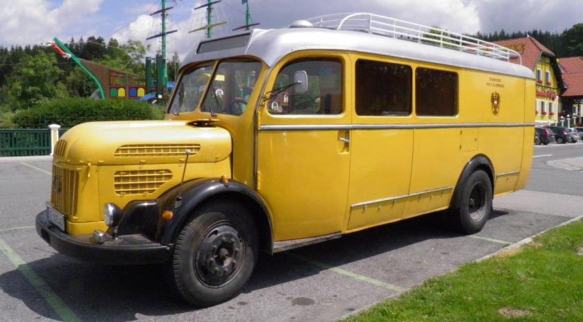 1950 STEYR LKW 380a