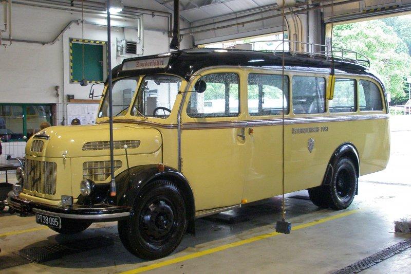 1950 Steyr Saurer Bus 100-jahre-postbus-osterreich-festgelande-12957