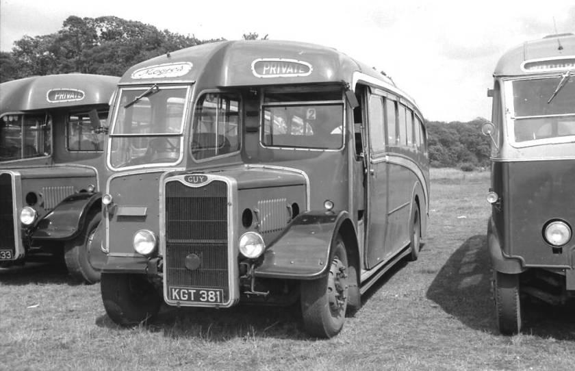1950 Strachan C35F bodied Guy Arab III