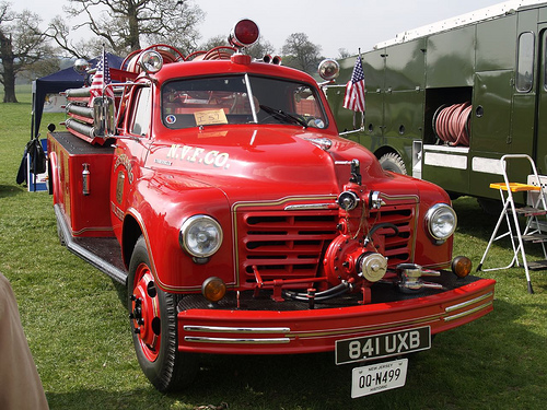 1950 Studebaker 2R Fire Engine Truck