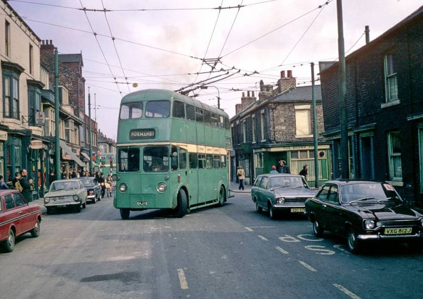1950 Sunbeam F4 trolleybus built in 1950 and rebodied by Roe in 1965