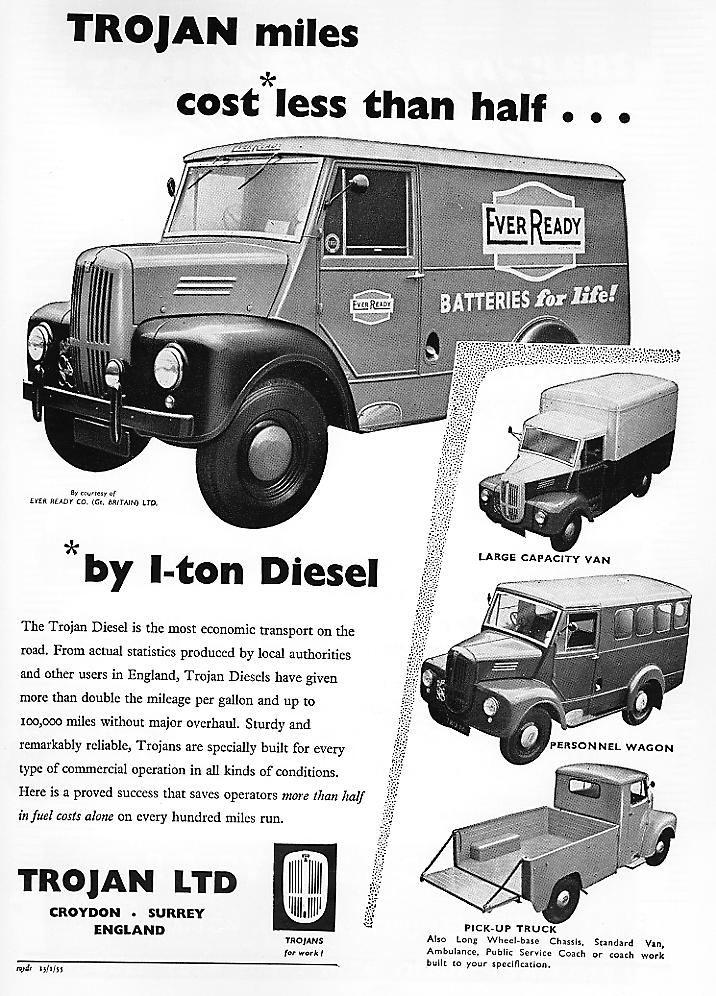 1950 Trojan advert