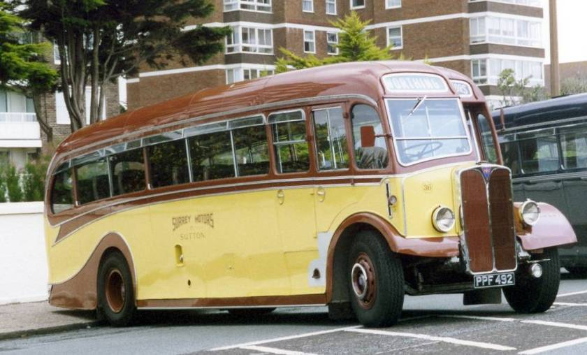1951 AEC Regal III 6821A with Harrington C37F coachwork.