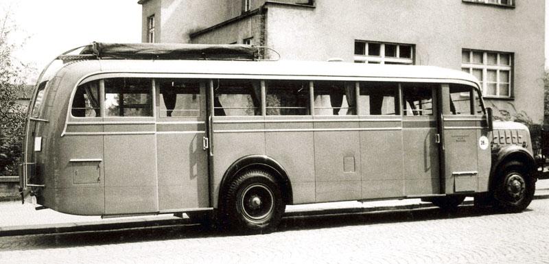 1951 Škoda 706 R