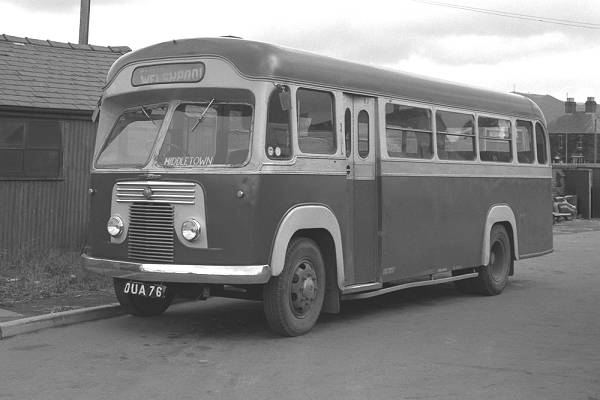 1951 Commer Avenger. The bodywork was by Saro