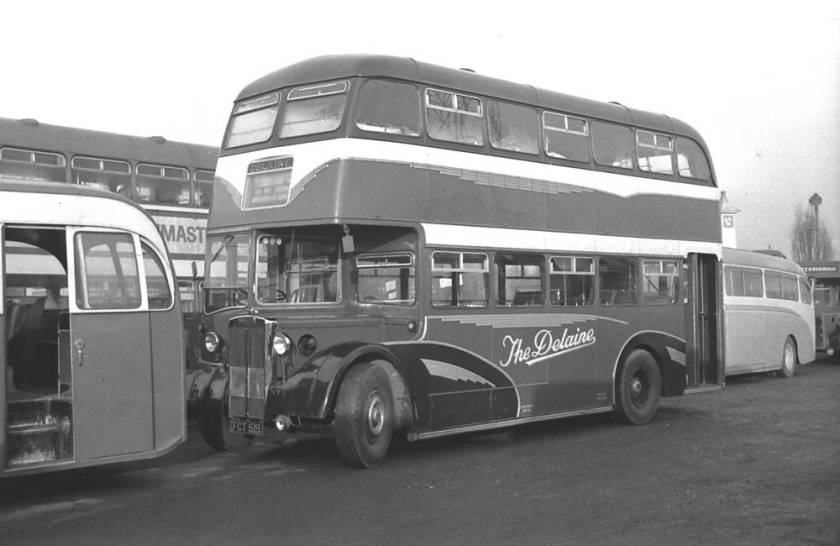 1951 Crossley DD42-8 with a Strachan H31-28RD body