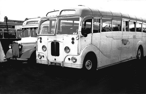 1951 Daimler LAD380 was a CVD6SD with Heaver FC40C body