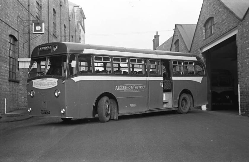 1951 Dennis Dominant with a Strachans B41C body