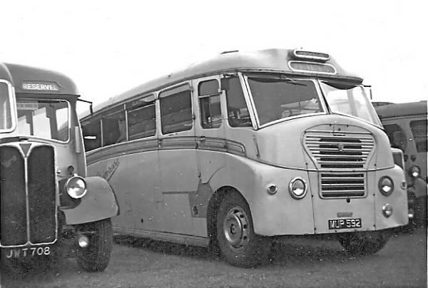 1951 Dennis Lancet III with an imposing Gurney Nutting FC37F body