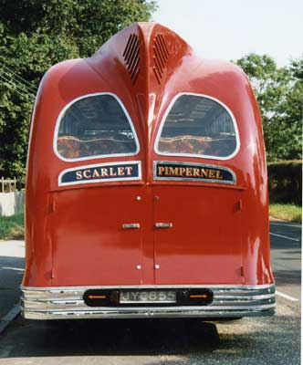 1951 Harrington Coach Rear in the early fifties a