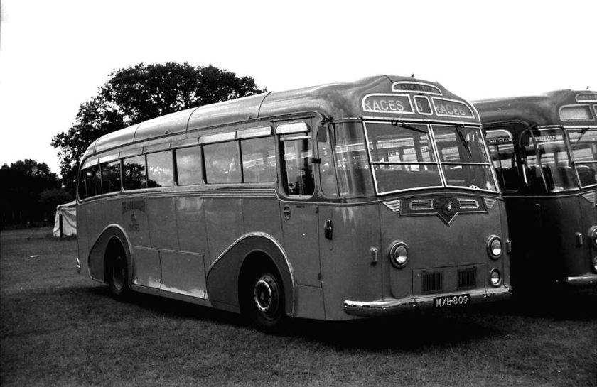 1951 Leyland PSU1-11 Royal Tiger with a Harrington Wayfarer C41C body