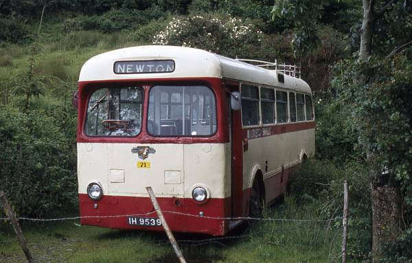 1951 Leyland Royal Tiger PSU1-9 built in 1951 with Saunders-Roe B44F bodywork