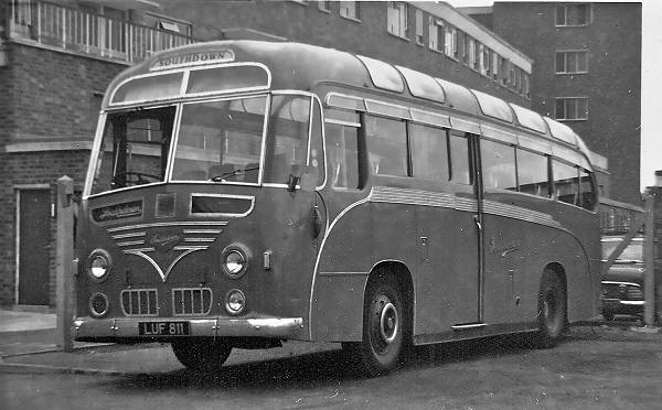 1951 Leyland Royal Tiger with a Harrington Wayfarer C41C body