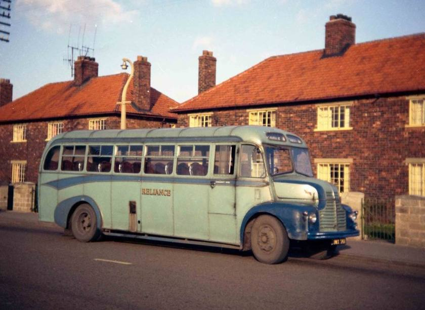 1951 Reliance JWX261 Barnaby bodied Leyland Comet