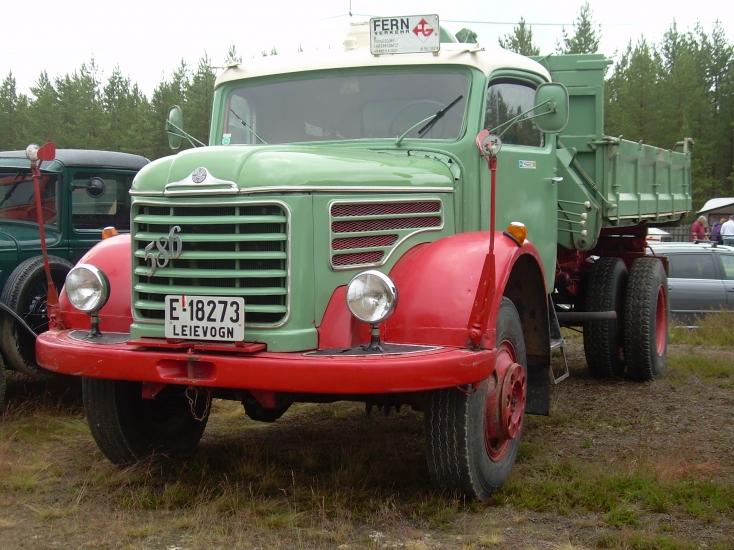 1951 Steyr 586