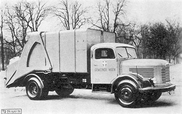 1951 Steyr Diesel 380 IIa