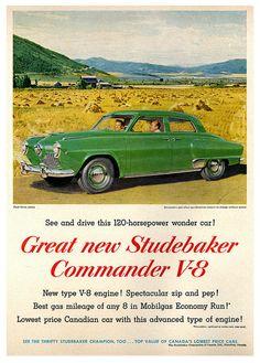 1951 Studebaker ad