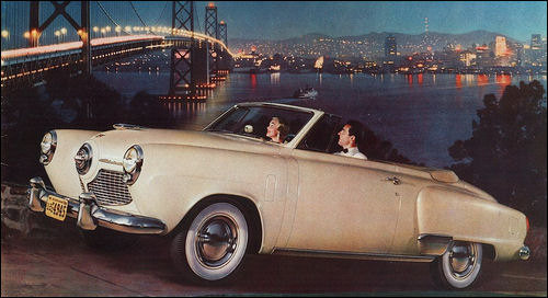 1951 Studebaker Champion Convertible