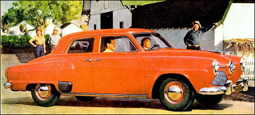1951 studebaker champion sedan