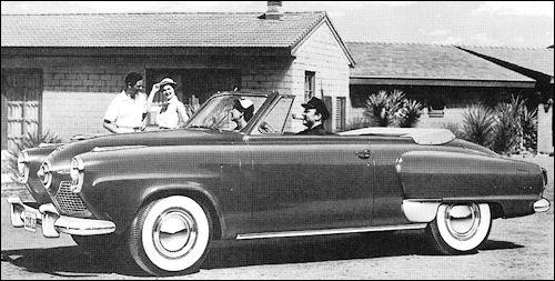 1951 Studebaker Commander Convert